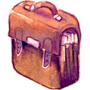 Bag IndianRed icon
