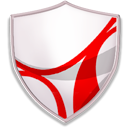 readerapp, protect, Guard, security, shield DarkGray icon