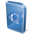 kubuntu, Box SteelBlue icon