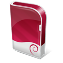 Box, Debian Brown icon