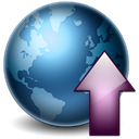 globe, increase, rise, Ascending, planet, world, Ascend, earth, upload, Up Black icon