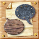 Chat, Comment, talk, speak DimGray icon