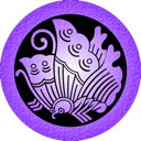 purple, ageha Black icon