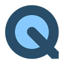 appicns, quicktime DarkSlateGray icon