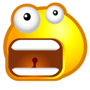 Waaaht, Face, Avatar, emoticom SaddleBrown icon