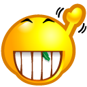 emoticom, Byebye, Avatar, Face DarkGoldenrod icon