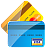 credit, Cards Black icon