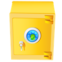 Safe, Cash, Money, coin, Currency Icon