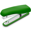 stapler Black icon