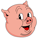 Color, old, porky BurlyWood icon