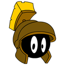 martian, bronze, marvin Black icon