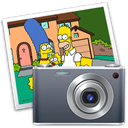 Iphoto, simpson DarkSlateGray icon