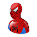 Cartoon, Spiderman Black icon
