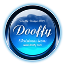 christmas, dooffy, Design, ikony Black icon