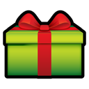 present, gift YellowGreen icon