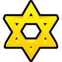 Favourite, star, bookmark Gold icon