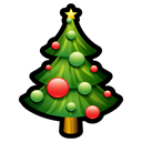 plant, christmas, Tree Black icon