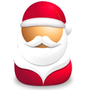 santa, plant, claus Crimson icon