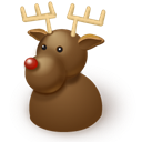 reindeer SaddleBrown icon