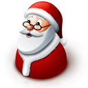 claus, santa Gray icon
