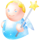 Angel LightSkyBlue icon