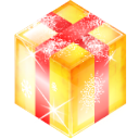 present, Box, gift Khaki icon