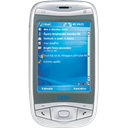 phone, smartphone, telephone, smart phone, Tel, qtek 9100 128, Cell phone, Handheld, qtek, mobile phone, Mobile, Cell Black icon