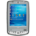 mobile phone, Hp, Cell phone, smartphone, ipaq, smart phone, Hp ipaq hx2495, Handheld DarkGray icon