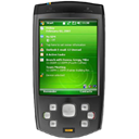 Cell phone, Htc sirius, smartphone, mobile phone, Htc, Handheld, sirius, smart phone Black icon