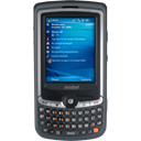 Motorola, smart phone, Handheld, smartphone, Cell phone, mobile phone, Motorola mc35 Black icon