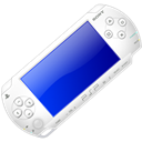 White, psp Black icon