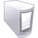 off, Server, Computer DimGray icon