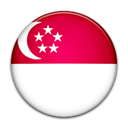 singapore, flag, Country Crimson icon