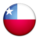 Country, Chile, flag Black icon