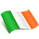 Ireland, eire Black icon