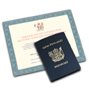 passport, citizenship OldLace icon