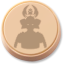 samurai, token BurlyWood icon
