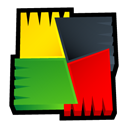 free, avg, Antivirus Black icon