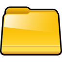 generic, yellow, Folder Gold icon