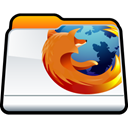 Firefox, Browser, Folder, mozilla Black icon