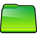 Folder, green, generic LimeGreen icon
