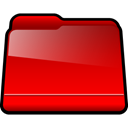 red, generic, Folder Red icon