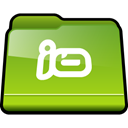 Folder, Jo YellowGreen icon