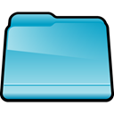 Blue, Folder, generic SkyBlue icon