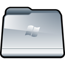 window, Folder Silver icon