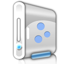 Hdd, hard disk, hard drive Gainsboro icon