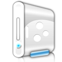 hard disk, hard drive, Hdd WhiteSmoke icon