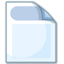 Doc, File, paper, document AliceBlue icon