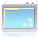 document, paper, File, program CornflowerBlue icon