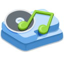 music SteelBlue icon